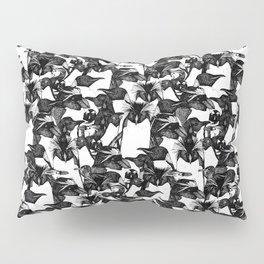 just penguins black white Pillow Sham
