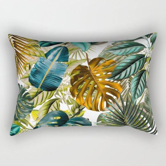 Tropical Garden IV Rectangular Pillow