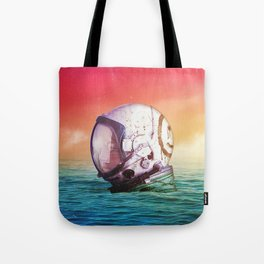 The Feeling Of Waves Tote Bag