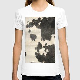 Black & White Cow Hide T-shirt