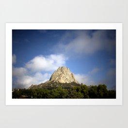 Bernal Rocky Mountain Art Print