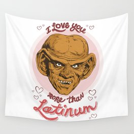 "Star Trek Valentine - ""I Love You More Than Latinum"" Wall Tapestry"