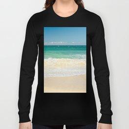 beach blue Long Sleeve T-shirt