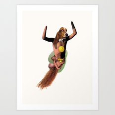 Olympic Pooch Art Print