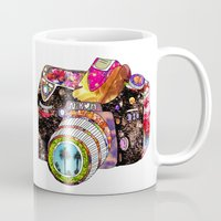 trees Mugs featuring Picture This by Bianca Green