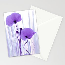 Collage Spring Violet 101 Stationery Cards