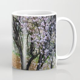 """""""Flowering Almond"""". At Sunset Coffee Mug"""