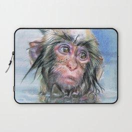 Japan monkey Laptop Sleeve