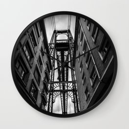 Portugalete suspension bridge Wall Clock