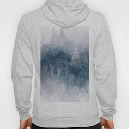 Ameythist Crystal Inspired Modern Abstract Hoody