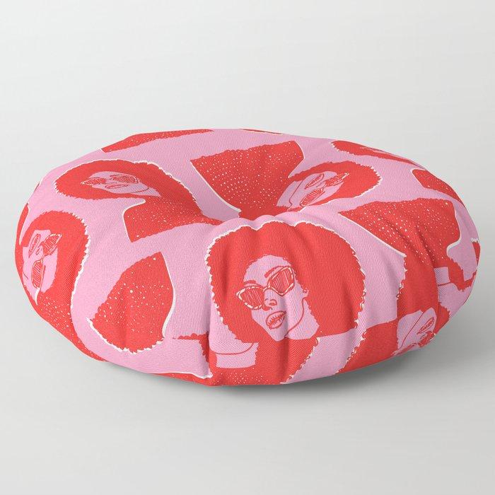 Kara Pattern Floor Pillow