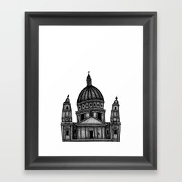 London - Saint Paul's Cathedral Framed Art Print