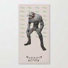 FI robot Canvas Print