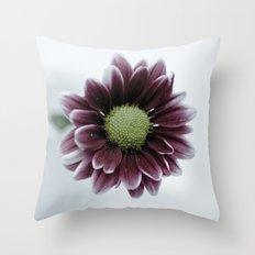 Drops on a Daisy Throw Pillow