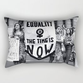 Women's rights matters! - Protest for the ERA, 90s Rectangular Pillow