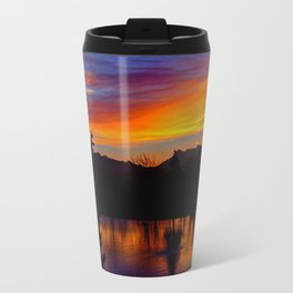 Sunrise at Rose Canyon Travel Mug