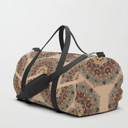 Floral Mandala pattern 1c Duffle Bag