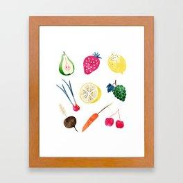 Veggie Heaven #society6 #society6artprint #buyart Framed Art Print