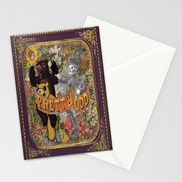 The emo trinity Stationery Cards