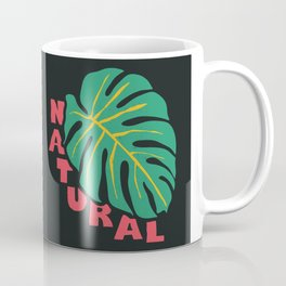 Natural, black  Coffee Mug