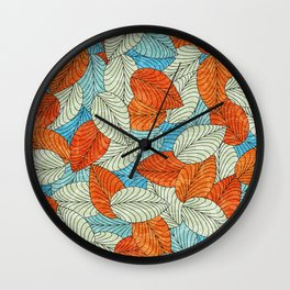 Let the Leaves Fall #09 Wall Clock