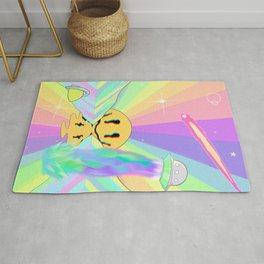 Psychedelic Sunset Rug