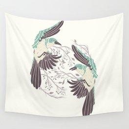 Birds of Summer Wall Tapestry