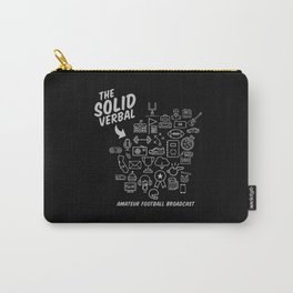 The Solid Verbal Carry-All Pouch