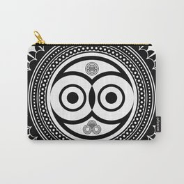 zentangle Owl Carry-All Pouch