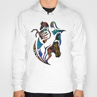 horses Hoodies featuring Horses by A Laidig