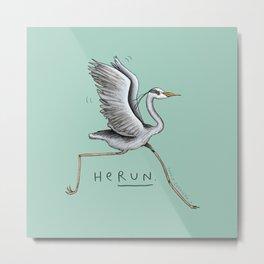 HeRUN Metal Print