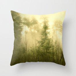 böhmische wälder I Throw Pillow