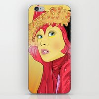 superheroes iPhone & iPod Skins featuring Superheroes SF by Vasco Vicente