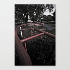 Old School Yard #4 Canvas Print
