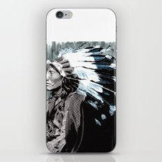 Native American Chief 2 iPhone & iPod Skin