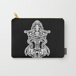 Sigil of the Lady Pirate (Black Design) Carry-All Pouch