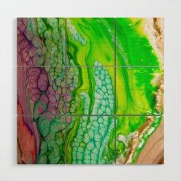 Histology of Abstract Wood Wall Art