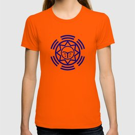 African Shield In Two Colors T-shirt