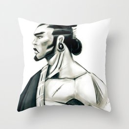 My Ronin Throw Pillow