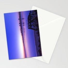 Twilight sky over Porto Stationery Cards