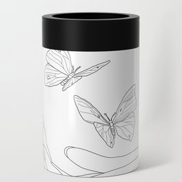 Butterflies on the Palm of the Hand Can Cooler