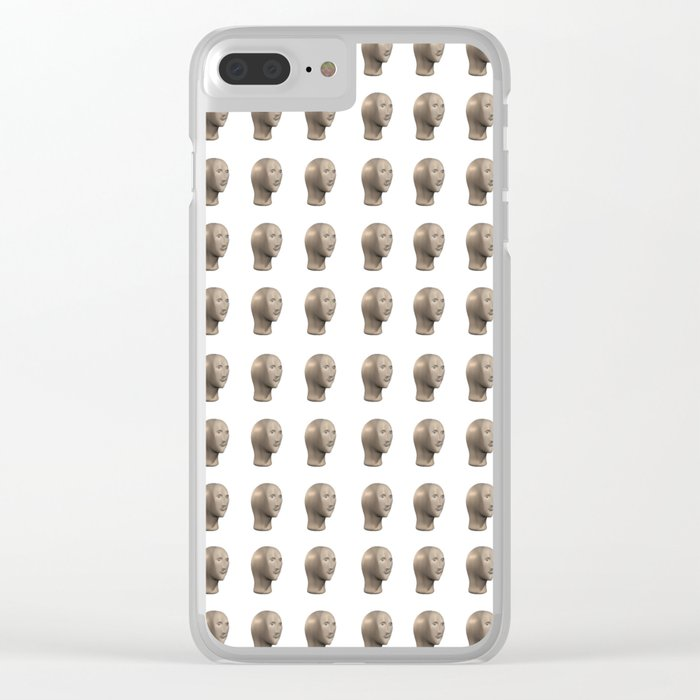 Meme Man's Army Clear iPhone Case by pineapplefritters
