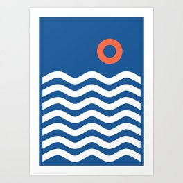 Nautical 03 Seascape Kunstdrucke