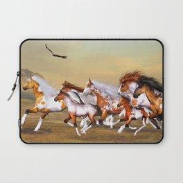 Wild Horses Herd Laptop Sleeve