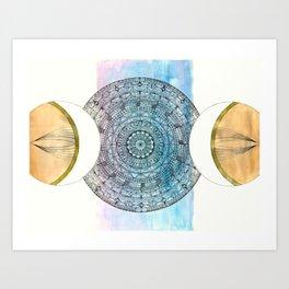 Codex Creation Art Print