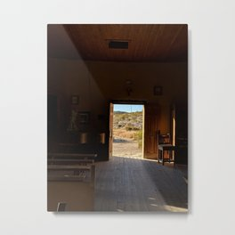 From The Pulpit - Terlingua, TX Metal Print