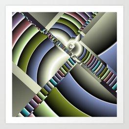 geometric pattern -2- Kunstdrucke