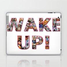 WAKE UP!  Laptop & iPad Skin