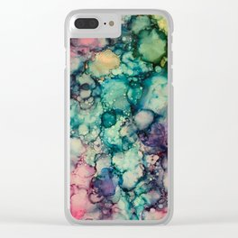~abstract~ Clear iPhone Case