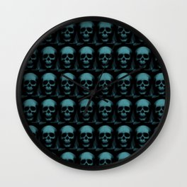Specter and Spook's Skull Menagerie Wall Clock